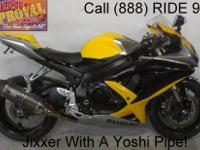 2008 used Suzuki GSXR600 crotch rocket for sale only