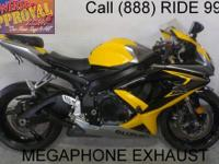 2008 Used Suzuki GSXR600 Crotch Rocket For Sale-U1757