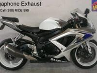 2008 Used Suzuki GSXR600 For Sale-U1901 with only 4,165