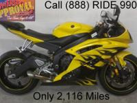 2008 used Yamaha R6 crotch rocket for sale with only