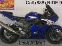 2008 used Yamaha R6 crotch rocket for sale-u1746 with