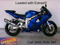 2008 Used Yamaha R6 Crotch Rocket - For sale with only