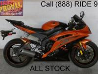 2008 used Yamaha R6 for sale in pearl yellow and black.
