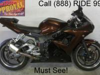 2008 used Yamaha R6 sport bike for sale with chrome