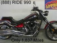 2008 used Yamaha Raider XV1900 in candy apple red for
