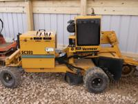 2008 Vermeer SC352 Stump Grinder. In exceptional