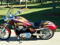 2008 Victory Jackpot. Bike is Arlen Ness Signature bike