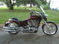 2008 Victory Vegas Low. This bike is truly a beautiful
