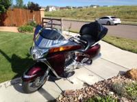 2008 Victory Vision with tour pack, loaded with chrome,