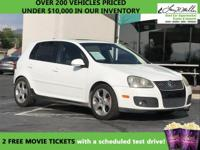 This 2008 Volkswagen GTI will sell fast -Leather -Aux.