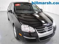 Jetta SE, 2.5L I5 DOHC, FWD, Black, Air conditioning,