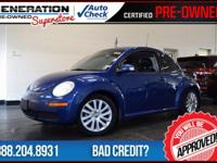 Beetle S Black Tie Edition, Laser Blue Metallic, and