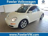 TRIPLE WHITE BEETLE and 6-Speed Automatic with