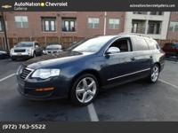 This 2008 Volkswagen Passat Wagon Turbo is offered to