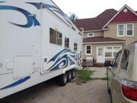 This is a 2008 Toy Hauler need to see camper, in great
