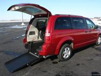This is a 2008 Wheelchair Accessible Dodge Grand
