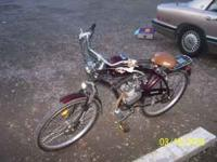 i have a 2008, 2 cycle wildfire motorized bike that