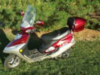 I am selling my Wildfire D150 Scooter. This 2008