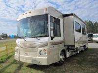 2008 Winnebago Destination. Class A Gas Pusher.