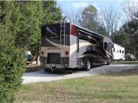 2008 Winnebago Journey Class A Motorhome. , low