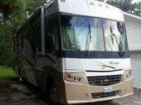 2008 Winnebago Voyager. It is equipped with all modern