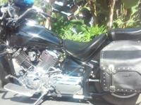 2008 Yamaha V-Star 1100 Custom in excellent shape with