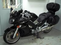 2008 Yamaha FJR1300 black with only 25k miles. It is