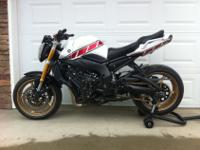 Up for sale is my 2008 FZ1N, it just rolled over 10k