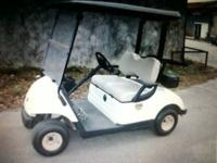 "2008 Yamaha ""electric"" golf cart. It comes with a new"