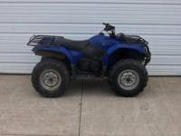 2008 Yamaha Grizzly 450 is in good shape minus a few