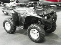 NICE 2008 YAMAHA GRIZZLY 700 FI AUTO SPECIAL EDITION
