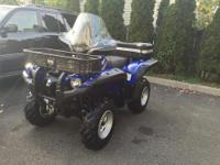 2008 YAMAHA GRIZZLY! I WILL DELIVER! MINT YAMAHA
