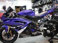 2008 Yamaha R6 with 9745 miles in Team Yamaha Blue and