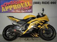 2008 Yamaha R6 Crotch Rocket for sale only $6,500!