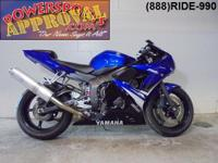 2008 Yamaha R6 Crotch Rocket for sale only $5,999! This