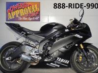 2008 Yamaha R6 Raven Edition Crotch Rocket for sale