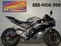 2008 Yamaha R6 Crotch Rocket for sale in Liquid Silver.