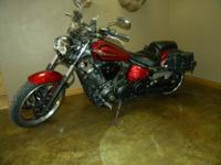 This is a 2008 Yamaha Raider 1854cc. This bike is in