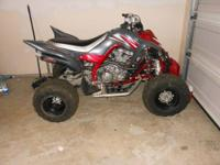 I'm selling my 08 Yamaha Raptor 700R. I bought the