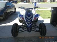 I have a 2008 yamaha raptor 700r special edition quad.