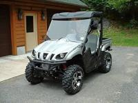 2008 Yamaha Rhino 700 FI Auto 4x4 Sports Edition