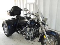2008 Yamaha 1650 Roadstar TRIKE! This is NOT A KIT!