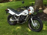 2008 Yamaha TW200 1,960 miles. Nice bike with low