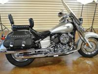 2008 Yamaha V-Star Classic! CLEAR and clean TITLE!Runs
