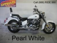 2008 Yamaha Vstar 650 Silverado Motorcycle For