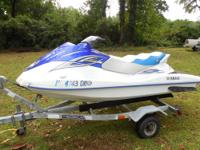 Selling my 2008 Yamaha VX110 PWC and Trailer. NOTE: The