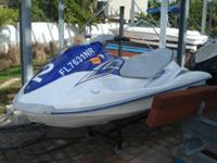 2008 Yamaha VX110 Sport. White and blue. 660 hours.