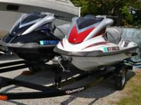 $10,995 Very nice Yamaha Wave Runners with two-craft