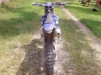 Description THIS IS A GOOD bike TO GO DIRT BIKE RIDING