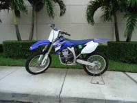 "This is a 2008 Yamaha YZ250F , this bike is ""Like New """